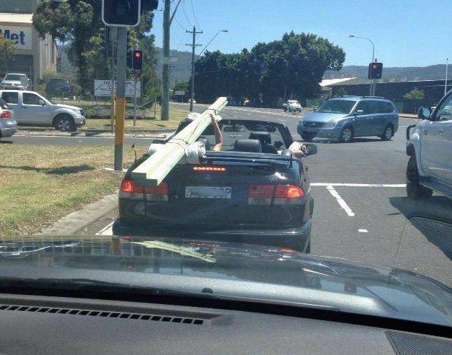 Convertible tradie.