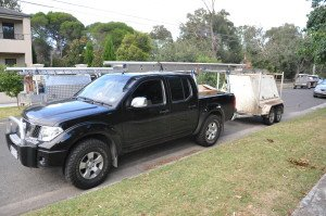 Tradies Ute & Trailer