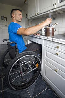 Tradie in Wheelchair