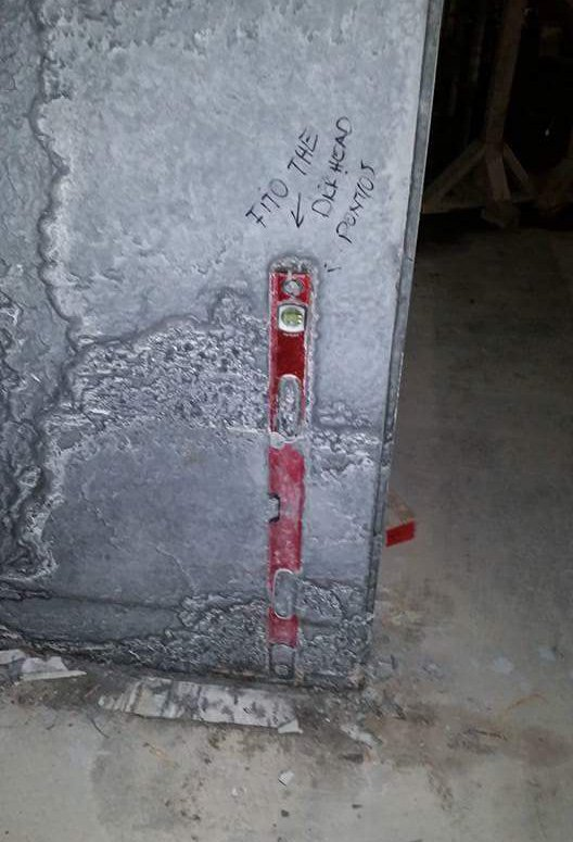 Level in formwork