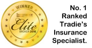 Highest ranked tradies insurance specialist.