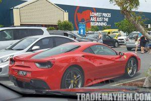 Ferrari at Bunnings