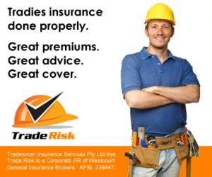 Tradies Insurance Ad