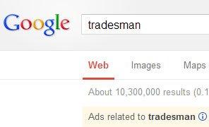 Google Tradesman