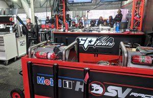 HSV pit garage
