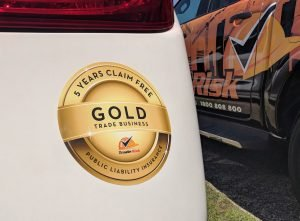 Gold Award for Tradies