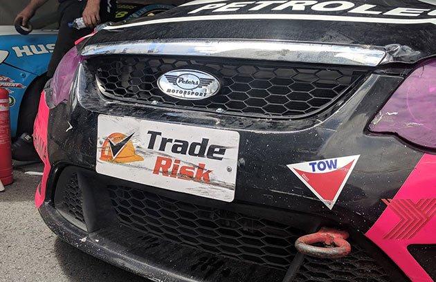 Trade Risk V8 Utes number plates
