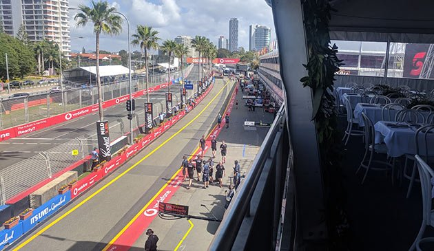 Virgin Paddock Club Gold Coast