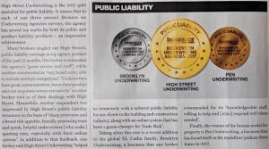 HSUA Public Liability Award 2017