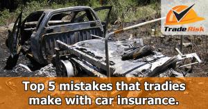 Tradies Car Insurance