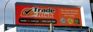 Trade Risk Billboard
