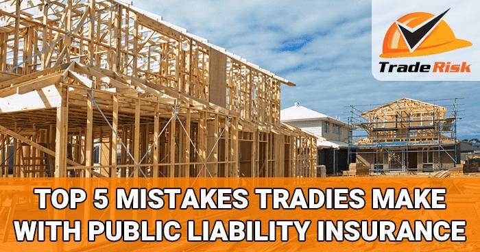 Tradies Public Liability Insurance