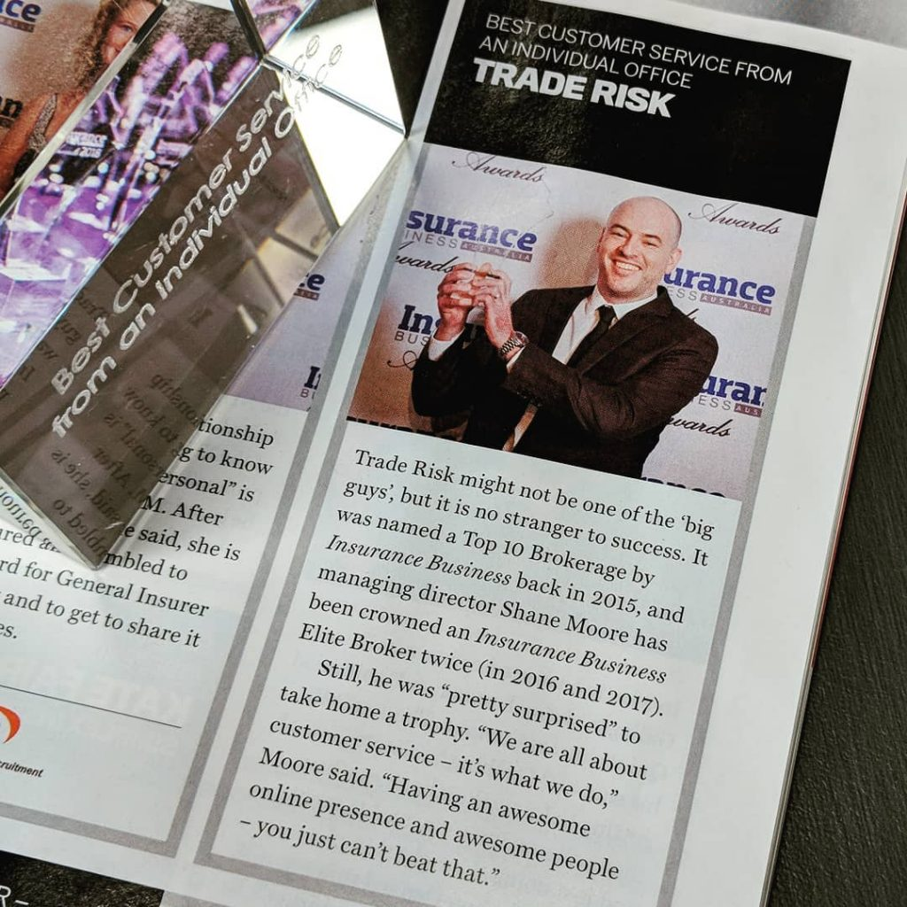 Insurance Business Awards Article