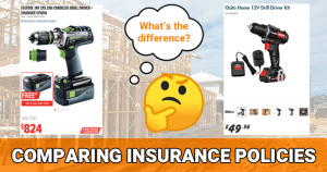 Comparing Insurance Policies