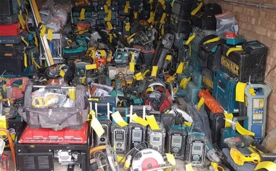 Stolen tradie tools