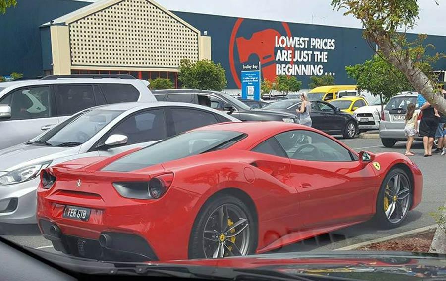 Bunnings Ferrari