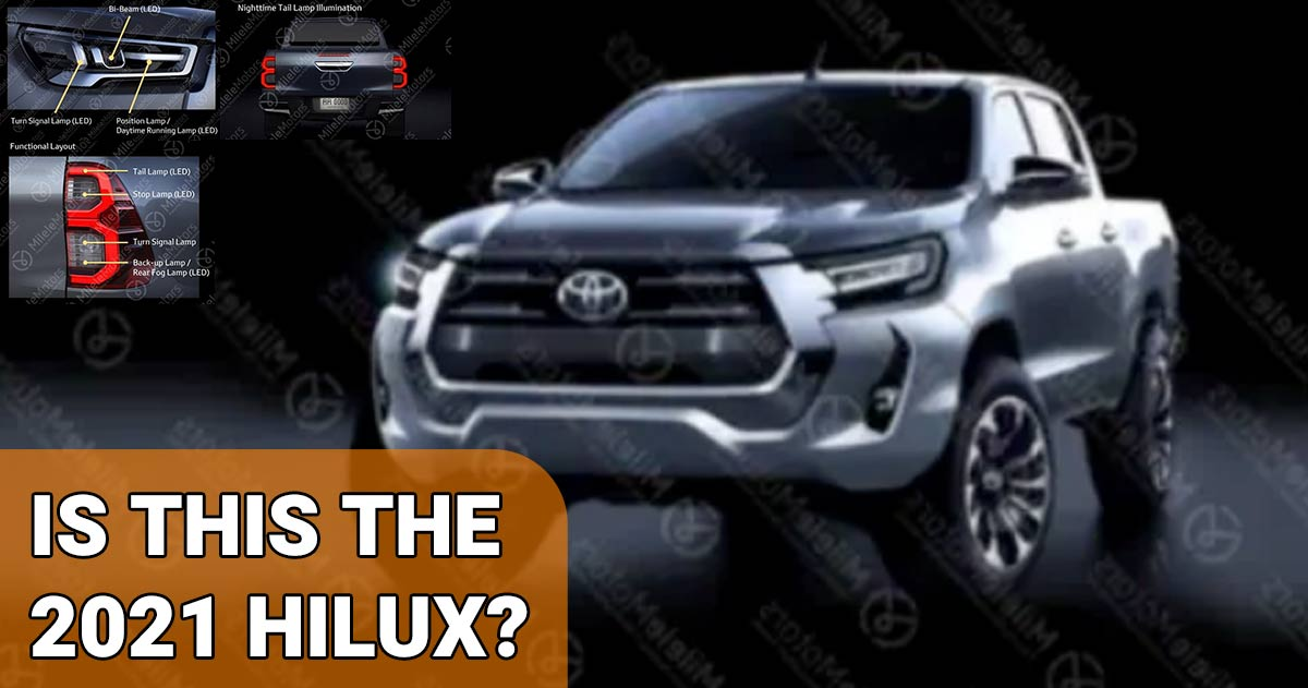 New Hilux images