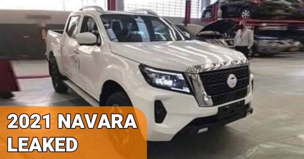 2021 Nissan Navara Leaked.