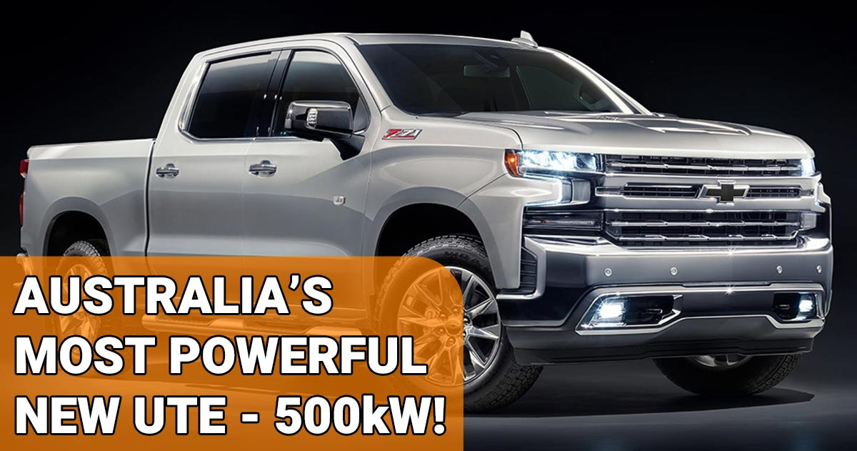 Australia's Most Powerful Ute
