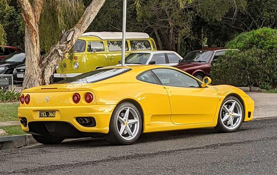 Insurance for a Ferrari