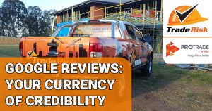 PROTRADE - Google reviews for tradies