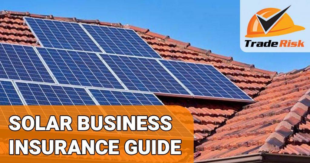 Solar Panel Installers Insurance